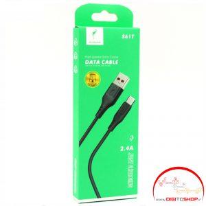 کابل فست شارژ USB-TYPE – C اسکای دلفین S61T