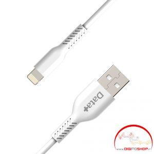 کابل تبدیل USB به لایتنینگ دیتا پلاس مدل DP02 طول 1 متر