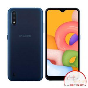 گوشی موبایل سامسونگ مدل Galaxy A01 SM-A015F/DS دو سیم کارت ظرفیت 16 گیگابایت و رم 2 گیگابایت